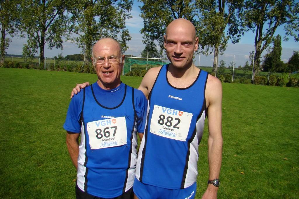 Erfolgreiches Duo: Manfred und Andreas Kramer.