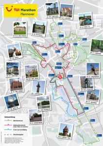 Die neue Strecke des Hannover-Marathon. Quelle: eichels-event.com