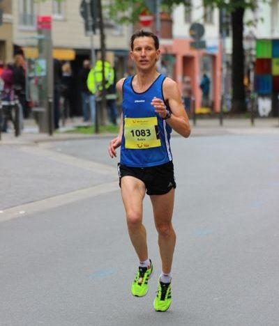 Schnell unterwegs: Robin Dörrie beim Marathon in Hannover.