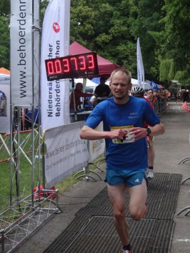 Neuer Streckenrekordhalter: Sören Ludolph.  Foto: Fettback